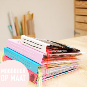 Moodbook-opmaat-boekbinden-studiocooliejoelie-opdracht