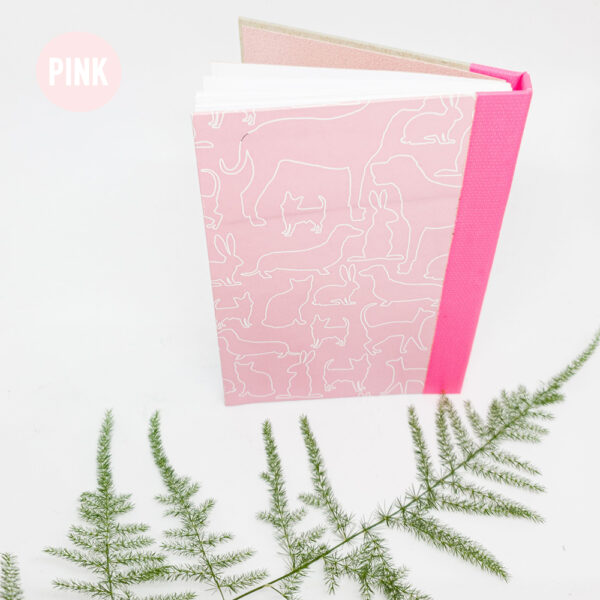 pink-handgebonden-boekje-schetsboek-notitieboek-a6-studiocooliejoelie