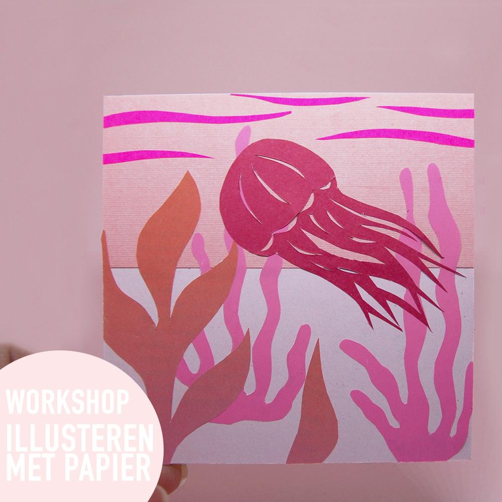 studiocooliejoelie-illustreren-papier-illusterenmetpapier-workshop